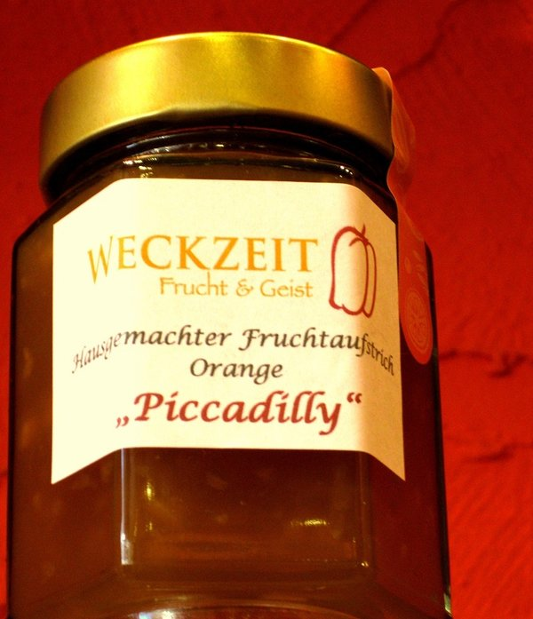 """Piccadilly"" Hausgemachter Fruchtaufstrich Orange"