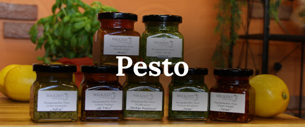 Pesto im Onlineshop
